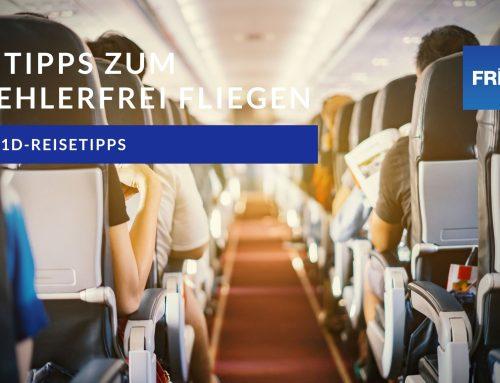 Fünf Tipps für stressfreies Fliegen mit T1D